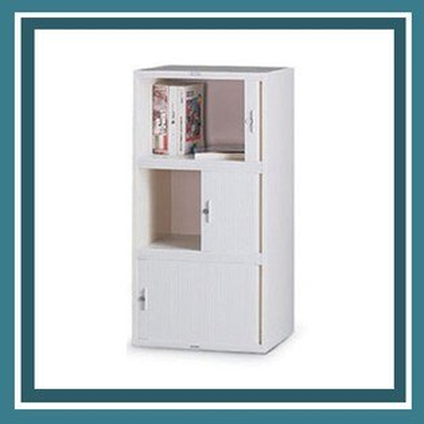 『商款熱銷款』【辦公家具】CP-6303橫向捲門公文櫃資料櫃效率櫃櫃子檔案收納