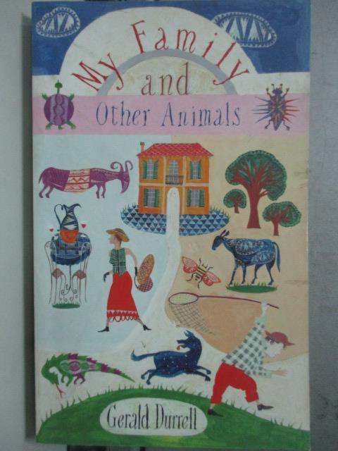 ~書寶 書T2/原文小說_JDY~My family and other animals_
