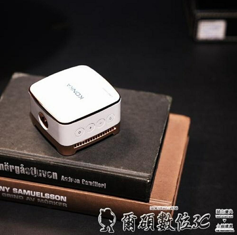 投影儀K1手機投影儀高清微型家庭影院家用無線wifi迷你小型3D投影機 清涼一夏特價