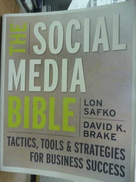 【書寶二手書T3/原文書_PIO】The Social Media Bible_Safko,Brake