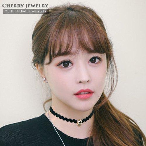 韓劇她很漂亮相似款骷髏項鍊頸鍊10242【櫻桃飾品】【10242】