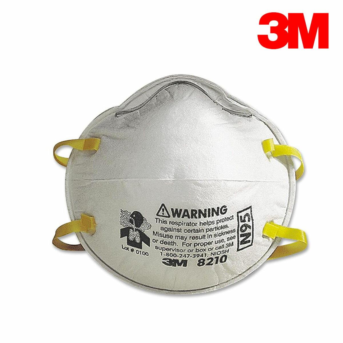 3M N95 8210口罩 單個1入 過濾粉塵 呼吸防護/工業用 2盒免運 可7-11取貨付款 Safetylite