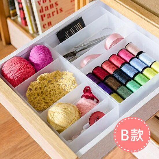 Mycolor:♚MYCOLOR♚桌面雜物整理盒套裝B拼裝儲物小物置物分類放置歸類客廳臥室衛浴【H30】