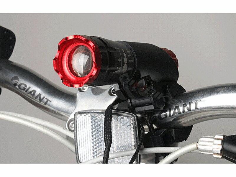 【珍愛頌】B051 槍型燈夾 自行車燈夾 自行車燈架 車燈架 強光手電筒 夾子 手電筒夾子 防震 車燈固定夾 手電筒架