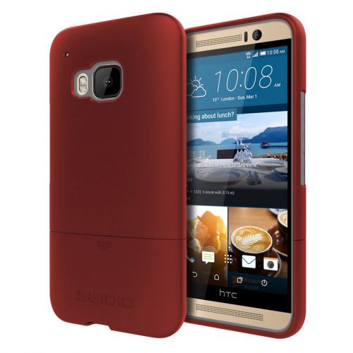SEIDIO SURFACE™ 專屬時尚保護殼 for HTC One M9 - 熱情紅