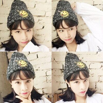 ~毛帽針織毛線帽~ 溫暖混色百搭女帽子6色73ie15~ ~~米蘭 ~