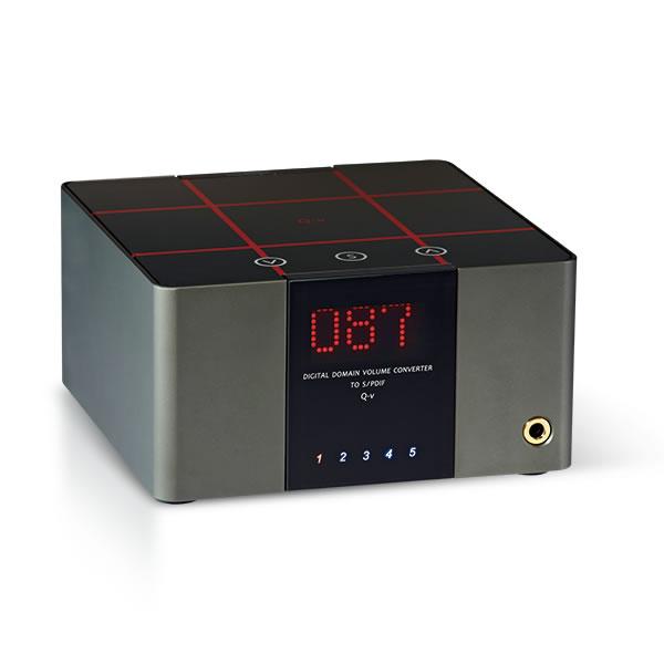<br/><br/>  志達電子 Q-V 谷津 DA&T Q-V USB DAC/數位音訊處理器 支援PCM 384K/32Bit DSD256解碼<br/><br/>