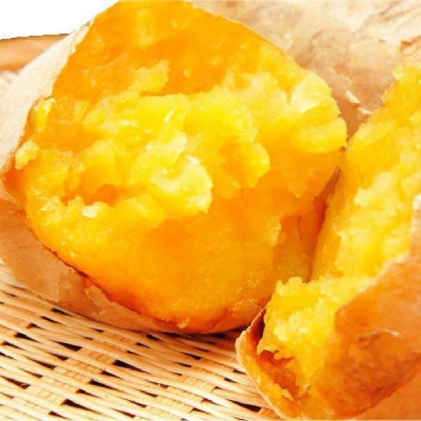 瓜瓜園-冰烤蕃薯 1000G/包【海鮮主義】●鮮甜美味冰烤地瓜,可直接退冰後帶皮吃