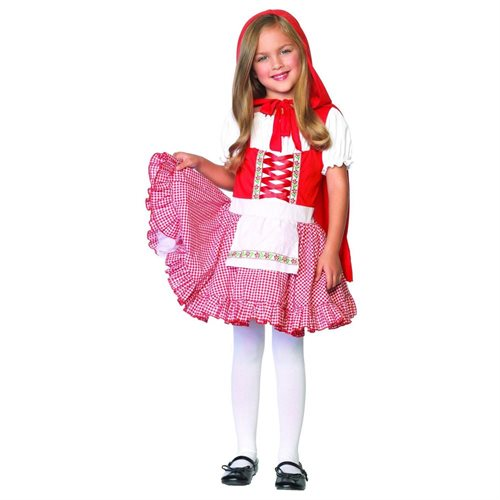 Lil' Miss Red Child Costume 0