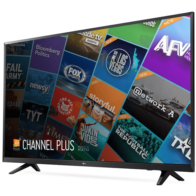 "LG 55UJ6200 55"" 4K UHD HDR Smart LED TV 1"