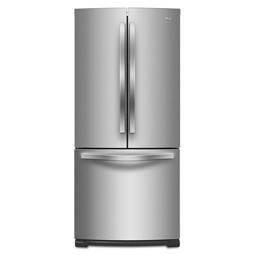 Whirlpool 惠而浦 WRF560SMYM 法式三門冰箱 554L 內製冰 (不鏽鋼)
