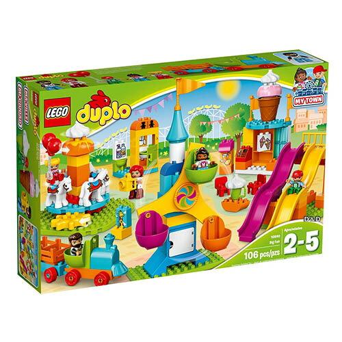 樂高積木 LEGO《 LT10840 》2017年 Duplo 得寶系列 - 大型遊樂場