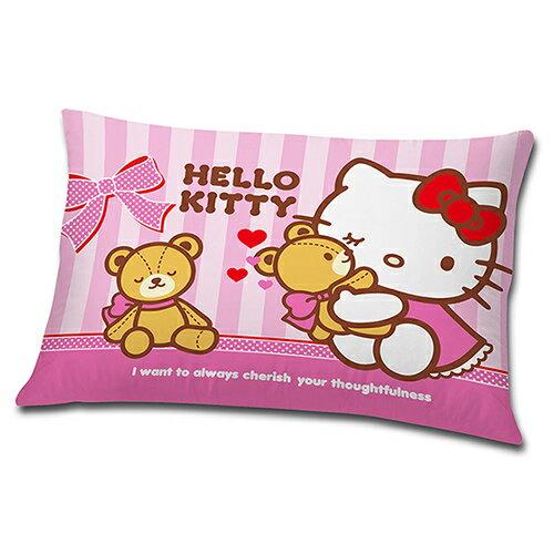 【享夢城堡】HELLO KITTY 我愛麻吉熊 中枕