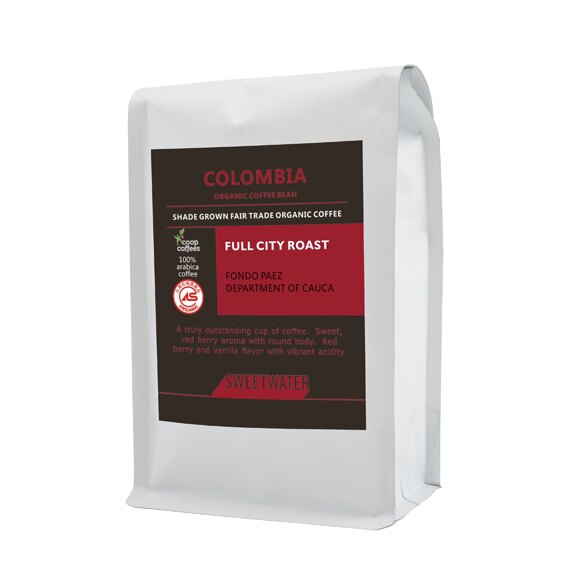【SWEETWATER】哥倫比亞有機咖啡豆---半磅(227g)