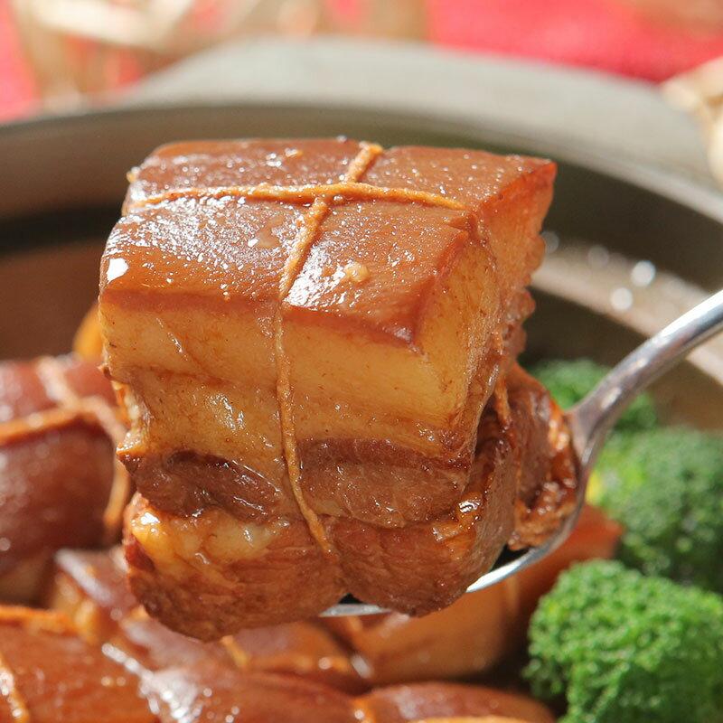 【江浙名菜】新月東坡肉每份4塊→大宴小酌新選擇,香嫩皮Q又入味,美味下飯一碗接一碗,家庭聚餐好加菜。
