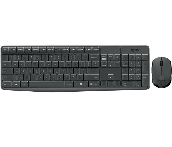 LOGITECH 羅技 MK235 無線鍵盤滑鼠組
