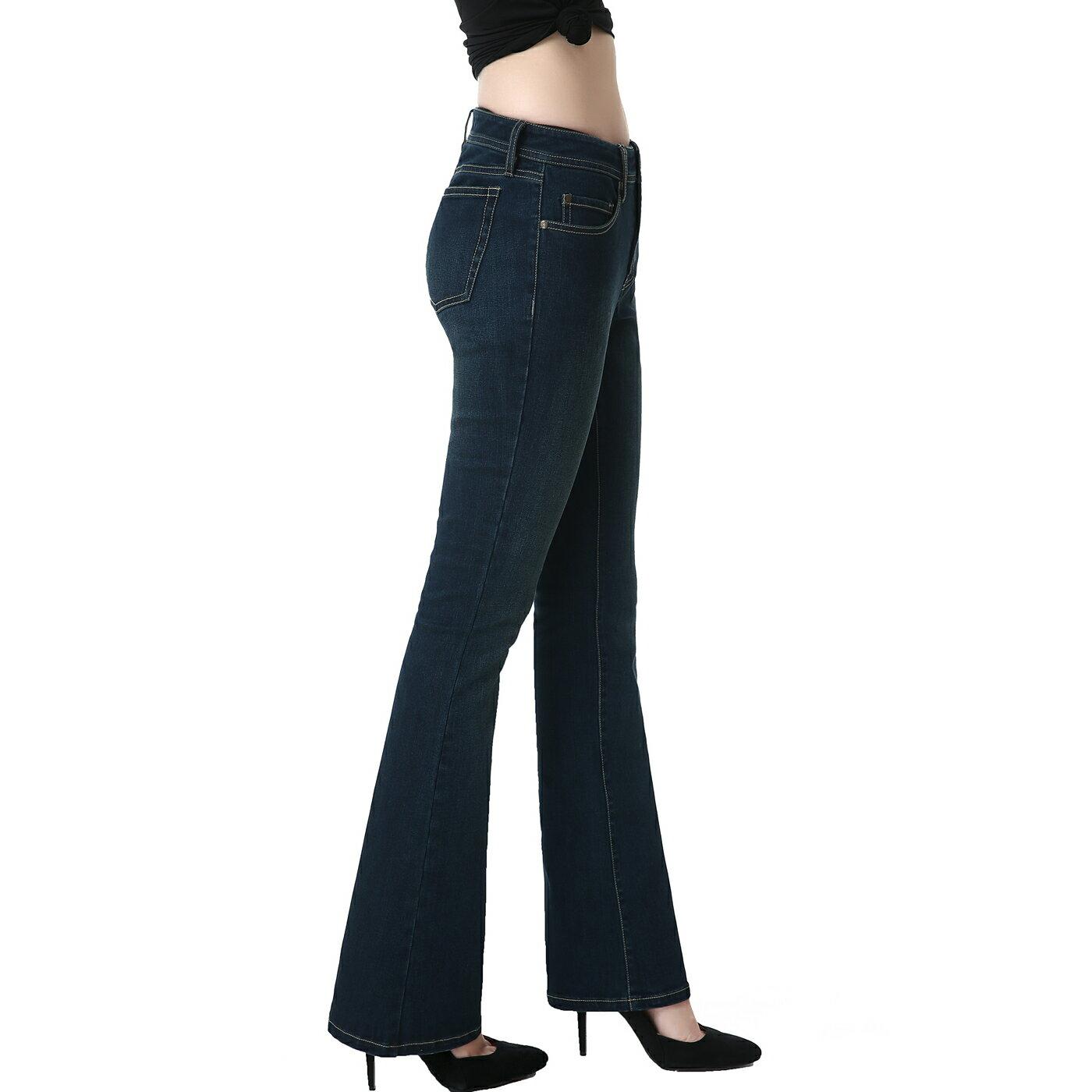 ff696104ea Luxury Lane  phistic Women s Ultra Stretch Rich Indigo Modern ...