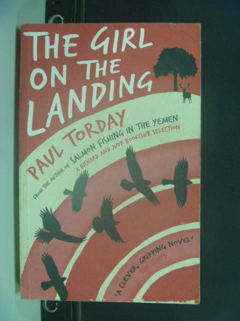 【書寶二手書T7/原文小說_HNU】The Girl on the Landing. Paul Torday