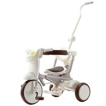 部落客媽媽愛用車款 【升級款】日本iimo #02兒童三輪車(折疊款-白色)