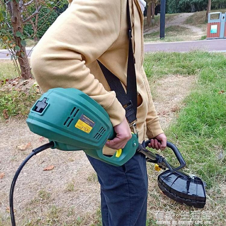 固強電動割草機大功率多功能家用打草機草坪機園林除草機割灌機AQ
