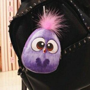美麗大街【HB107041342】可愛五色的小鳥零錢包鑰匙包