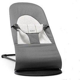 【淘氣寶寶】瑞典 BabyBjorn Bouncer Balance Soft 柔軟彈彈椅-灰【彈彈椅自然擺動不需使用電池/符合人體工學】【正品】