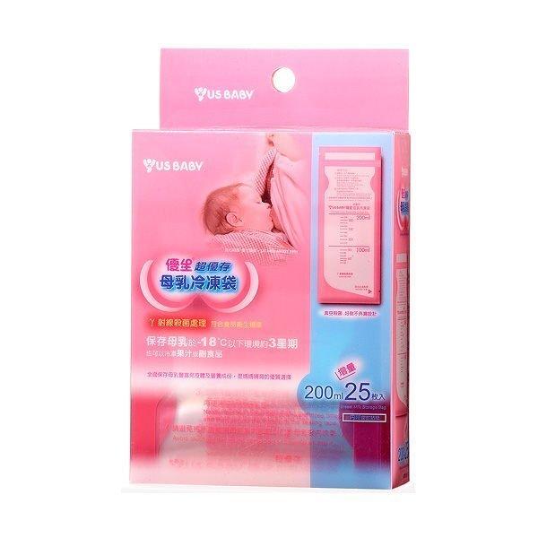 優生US BABY 母乳冷凍袋 25入(200ml) 162964 好娃娃