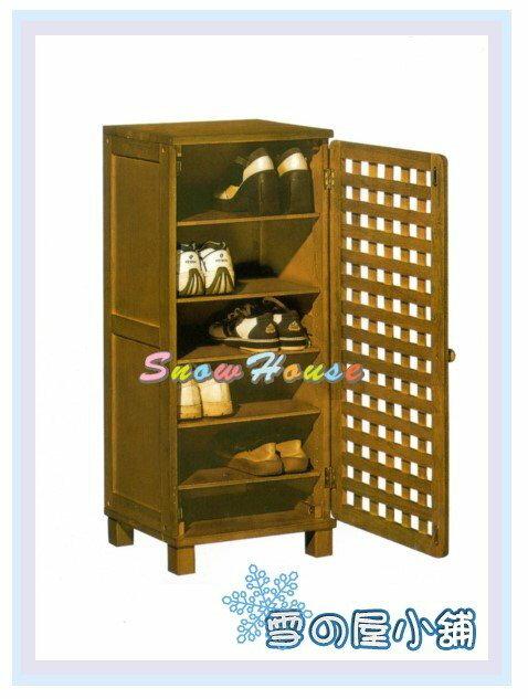 ╭☆雪之屋居家生活館☆╯AA573-05/P654-19 CY-452實木1.5尺鞋櫃/置物櫃/鞋架/拖鞋架/DIY自組