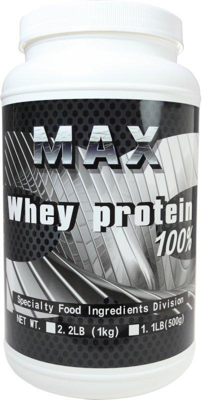 MAX 麥斯 分離乳清蛋白 使用美國Hilmar 1000g 原味無添加