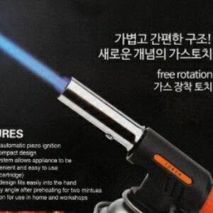 美麗大街【CF77771】出口韓國戶外野營生火工具噴火槍點火槍燒烤便攜噴槍打火器瓦斯槍