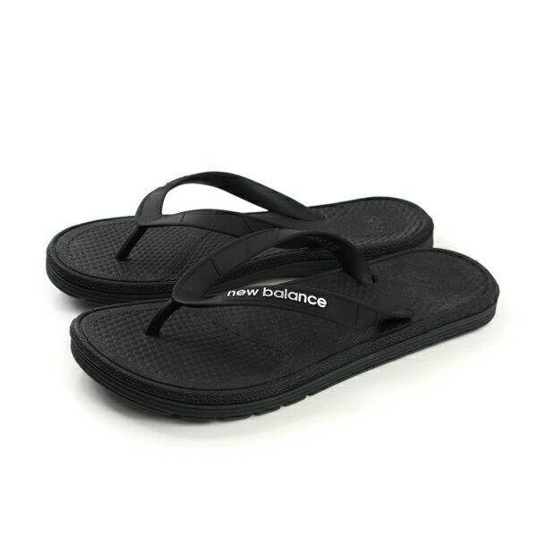 【全店點數40倍】NEW BALANCE 夾腳拖鞋 黑色 男鞋 no264