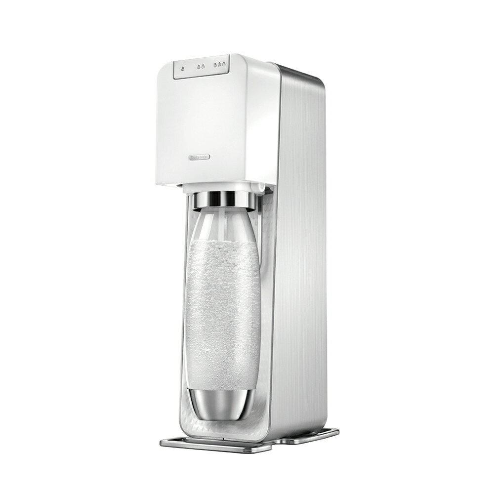 ★領券現折200起【Sodastream】電動式氣泡水機/旗艦白(POWER SOURCE)