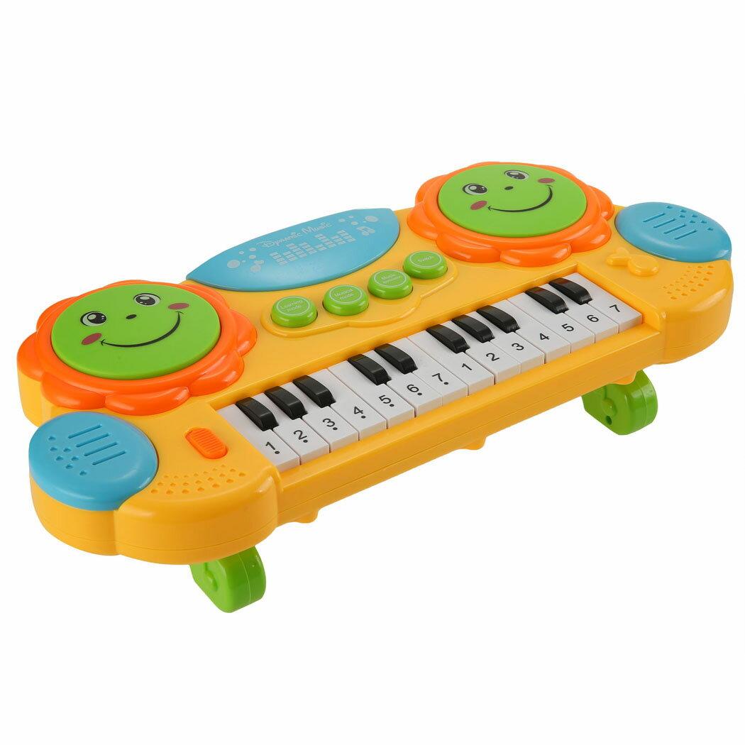 Baby Kids Educational Development Music Instrument Toy Battery Electronic Organ Keyboard Hand Beat Pat Drum Piano 1