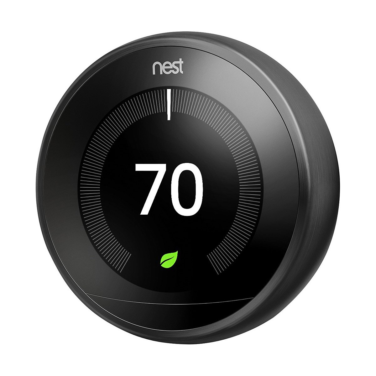 Nest 3rd Generation Programmable Wi-Fi Smart Learning Thermostat T3016US - Black 2