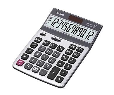 [公司貨2年保固]CASIO 計算機 DX-120ST 12位數/金屬面板/大型顯示幕