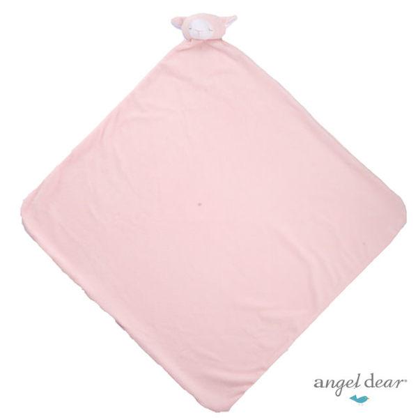 美國Angel Dear 大頭動物嬰兒毛毯 粉羊AD2002(此商品售出不做退換)『121婦嬰用品館』 0