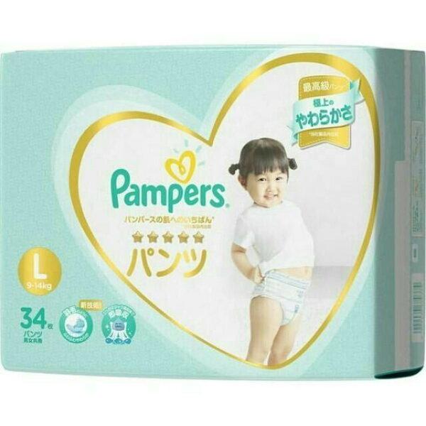 日本【幫寶適】一級幫褲型拉拉褲L(34片包)