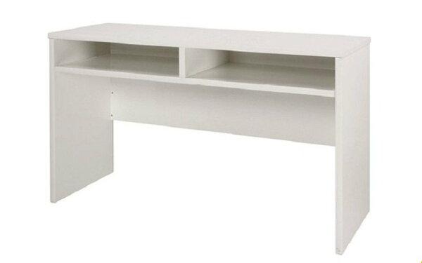 【石川家居】932-19白色書桌(CT-410)#訂製預購款式#環保塑鋼P無毒防霉易清潔