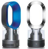 戴森Dyson到Dyson hygienic mist 增濕氣流倍增器 AM10 黑/藍2色 智慧氣候控制技術 加濕功能 dyson無葉風扇