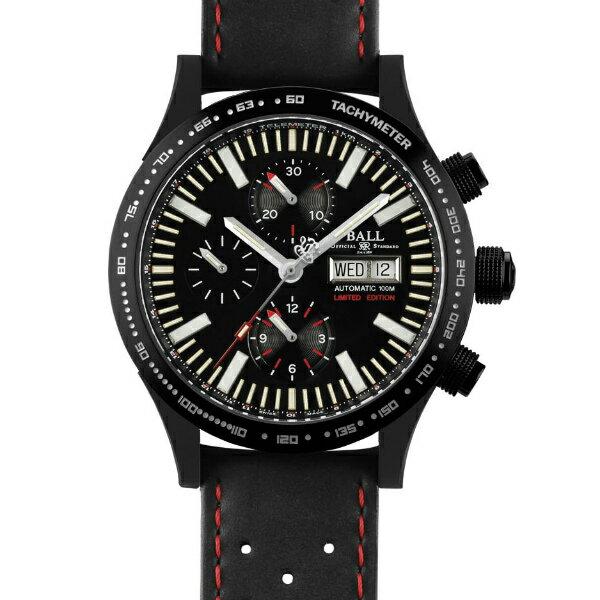 BALL 波爾錶CM2192C-P2-BK Fireman暴風追逐者機械計時腕錶/黑面42mm