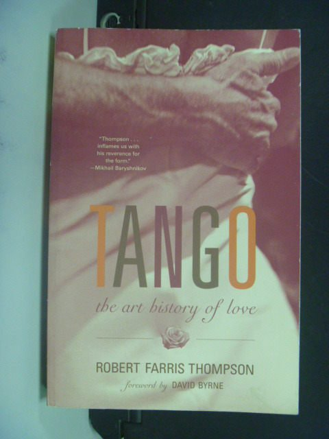 【書寶二手書T8/兩性關係_MIQ】Tango: The Art History of Love
