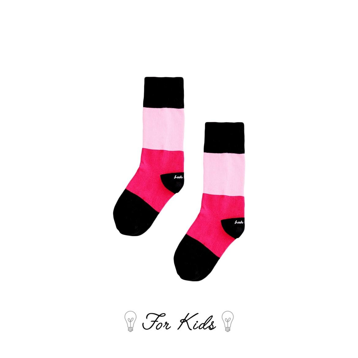 Leeds weather【英國設計】天然純棉孩童襪子★繽紛色彩拼接襪子【Cotton Socks Recommendations】- Routemaster ( A todo color系列共5款 ) 皇室孩童御用推薦、可愛穿搭、透氣舒適耐洗