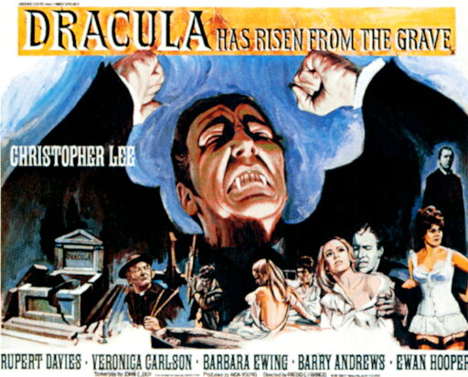 Dracula Has Risen From The Grave Rolled Canvas Art - (14 x 11) d6e5a2c18a1868494f27b0a3fc6b065c
