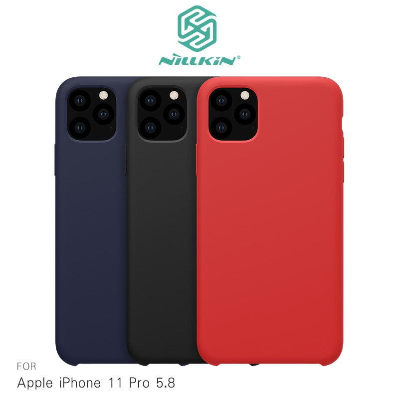 強尼拍賣~NILLKIN Apple iPhone 11 (6.1吋) /11 Pro (5.8吋) /11 Pro Max (6.5吋) 感系列液態矽膠殼 背殼 鏡頭增高