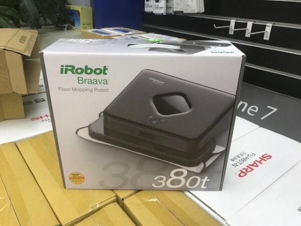IRobot拖地機器人380台灣公司貨二年保固(特惠價9900免運費)