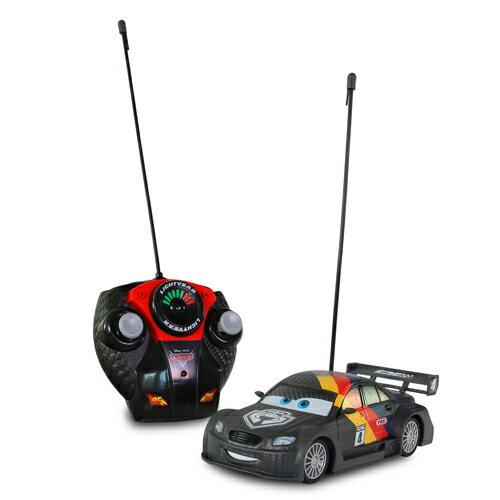 黑炫版麥帥 1:24/ MAX SCHNELL/ CARS/ 汽車總隊員 / 遙控車/ 迪士尼/ 伯寶行