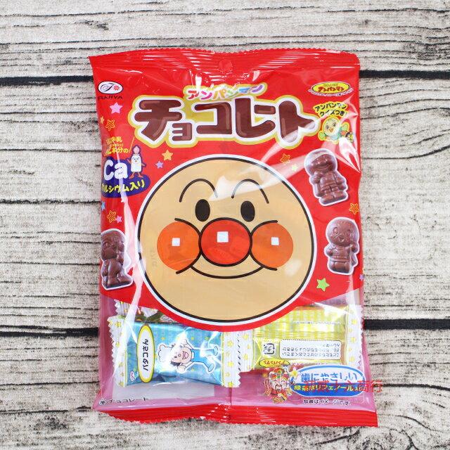【0216零食會社】日本糖果 Fujiya不二家 麵包超人造型巧克力69g