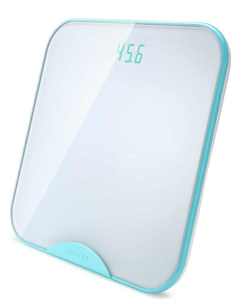 體重計 藍牙傳輸體重計 無線智慧體重計 台灣品牌【oserio歐瑟若】BTG-365G極光綠 1