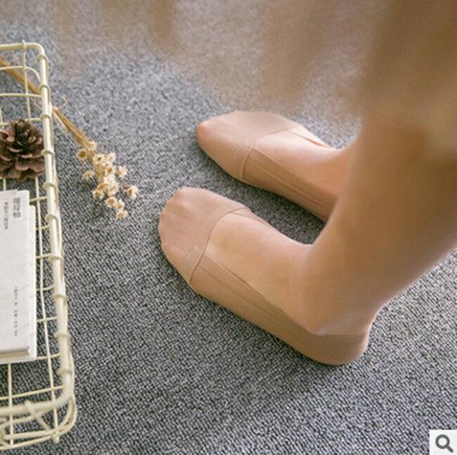 50%OFF【W012414SK】新品夏季一片式無痕冰絲船襪一圈矽膠防滑隱形襪豆豆鞋女襪子