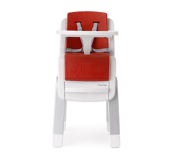 NUNA - ZAAZ 高腳椅 (紅) 贈品牌手提袋+可愛玩偶吊飾,加贈快樂寶貝禮盒! - 限時優惠好康折扣